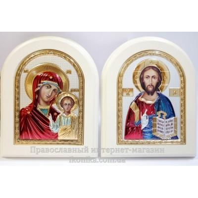 Иконы для благословения и венчания Христос и Казанская