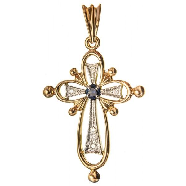 Фаворская звезда на нательном крестике