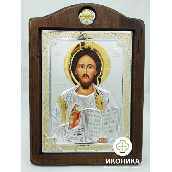 Купить икону Иисус Христос  – купить на Ikonika.com.ua. ☎: (044) 384-06-65, (095) 772-43-43. Бесплатная доставка по Киеву ✈ Гарантия качества ☑ Лучшая цена